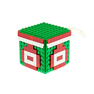 Strictly Briks Building Bricks and Blocks Set | Classic Briks Ornament | 100% Compatible with All Major Brick Brands | 164 Pieces