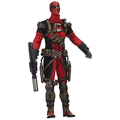 Sideshow Collectibles SS100178 Marvel Heroes Deadpool Playset, Red: Toys & Games