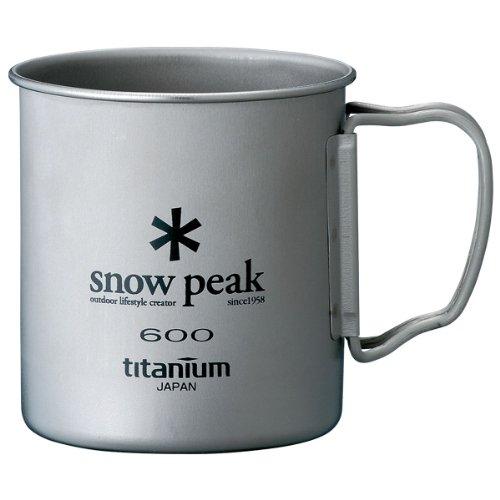 Snow Peak Titanium Single 600 Wall Cup