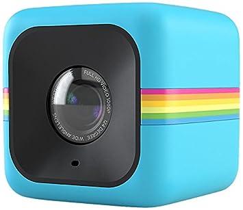 6120f27712 Polaroid Cube Videocámara de acción de estilo de vida HD 1080p (AZUL):  Amazon.es: Electrónica