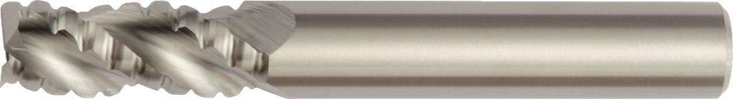 0.04 Chamfer Carbide Weldon Shank TiCN Coating 0.75 Cutting Dia 3-Flute RH Cut WIDIA Hanita TC4A0R19007 4A0R HP Aluminum End Mill