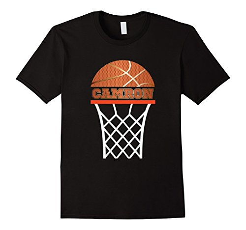 Name Camron boys basketball shirt | gifts for boys and kids