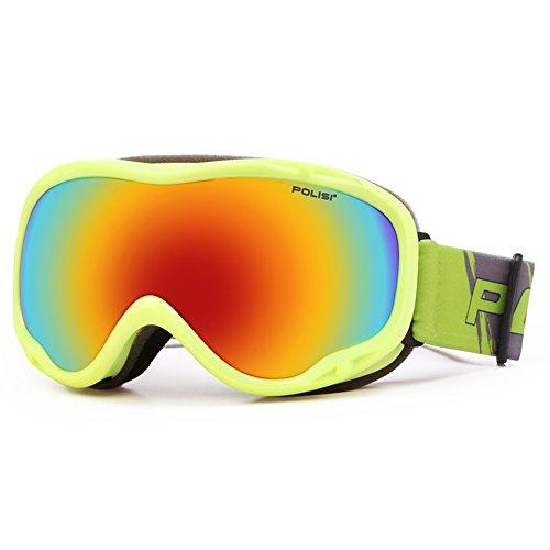 SE7VEN Snowboard Goggles,Double Couche Anti Brouillard Unisexe Plus De Lunettes Pour Les Sports D'hiver G