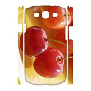 lintao diy Case Of Cherry Customized Hard Case For Samsung Galaxy S3 I9300 hjbrhga1544