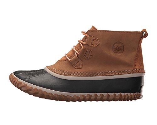 Sorel N About Lace Boot - Girls' Elk/Black, 4.0 (Kids Sorel Boots)