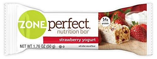 ZonePerfect Nutrition Snack Bars, Strawberry Yogurt, 1.76 oz, (30 Count)