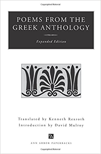 Amazon poems from the greek anthology expanded edition ann poems from the greek anthology expanded edition ann arbor paperbacks expanded subsequent edition stopboris Gallery