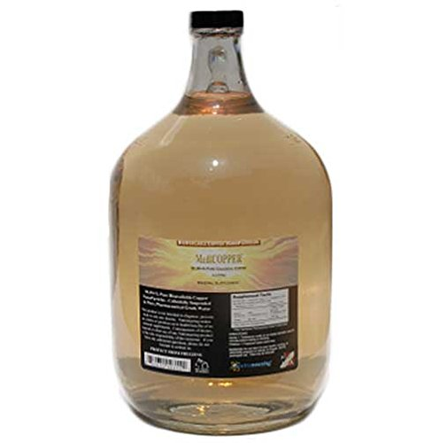 MediCOPPER - True Colloidal Copper - 1 US Gallon Glass Jug