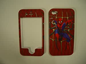 Spiderman iPhone 4 4G 4S Snap On Faceplate Case Cover