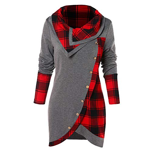 Sweat Manteau shirt Veste Oversize Only Piece Confortable B Gris Sweatshirt One Asymétrique Femme Ourlet xZ5wHwqI
