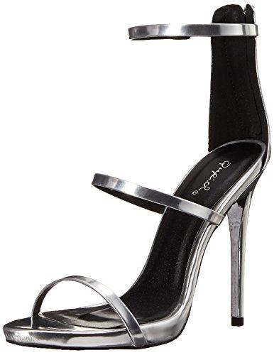 01 Silver Women Sandal - 8