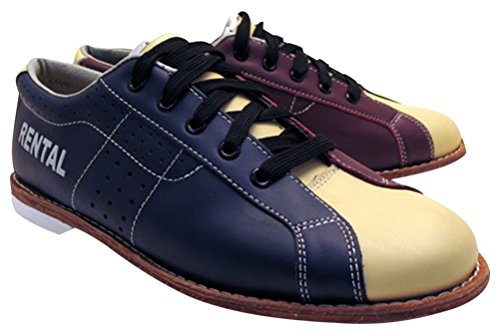 Bowlerstore Women's Classic Plus Rental Bowling Shoes, 5 1/2 US M, Blue/Red/Cream by Bowlerstore