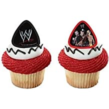 A Birthday Place Wwe Champions Cupcake Rings