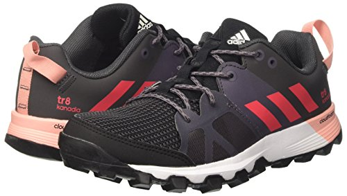 De Kanadia 8 trace Tr Grey core Pink Black Femme core Chaussures Noir Adidas W Course Orange dqgFnwgXA
