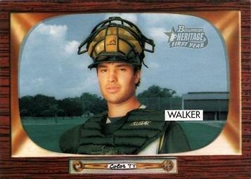 2004 Bowman Heritage Baseball #214 Neil Walker Rookie Card
