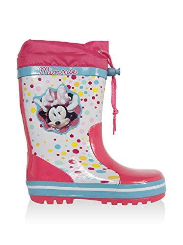 Disney Minnie - Pijama de Dos Piezas Niñas Blanco / Rosa