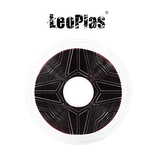 LeoPlas New Store USA Spain China Warehouse Global Shipping 1.75mm Transparent Translucent Coffee Brown PETG Filament 17 Colors 1Kg 2.2 Pounds FDM 3D Printer Pen Supplies Plastic Printing Material