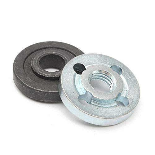 M10 Inner Outer Lock Nut for Grinders - Tool Accessories Power Tool Parts - 2 x Lock Nut -