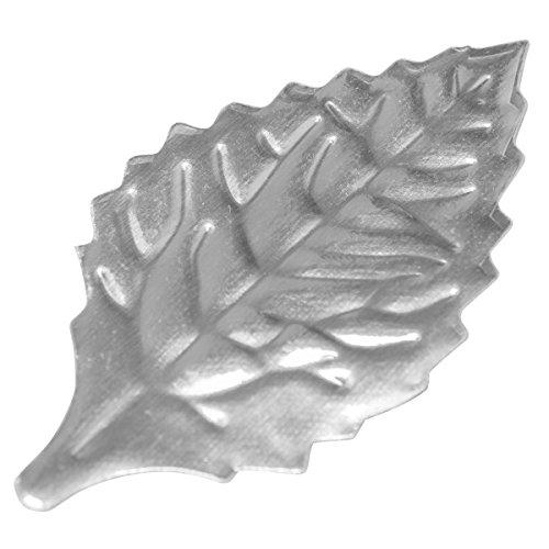 Foil Accent (Silver Foil Leaves 1-3/8