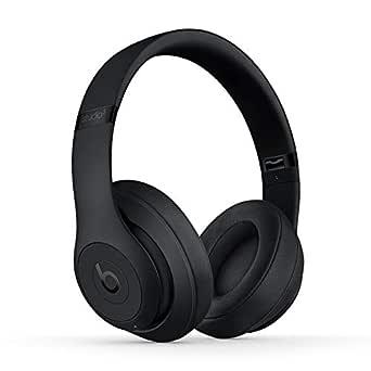 Beatsby Dr.Dre Studio3WirelessOver-Ear-Hörlurar med Brusreducering – AppleW1-Chippet, Class1Bluetooth, Aktiv Brusreducering, Transparens, 22 Timmars Lyssning - Matt Svart