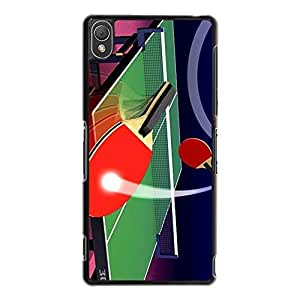 Perfect Classical Table Tennis Phone Case Cover For Sony Xperia Z3