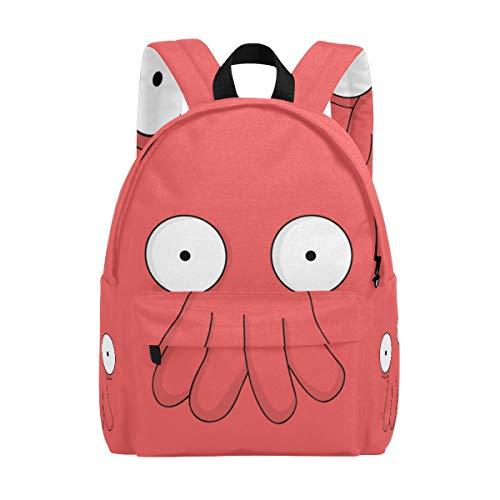 Futurama Doctor Zoidberg Kid's Backpacks Rucksack Student School Book Bags -
