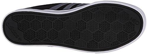 Adidas Neo Menns Bbadidas Neo Skool Lav-top Sneaker Svart / Grå / Hvit