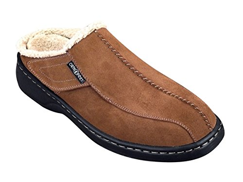 Orthofeet Asheville Comfort Arch Support Diabetic Mens Orthopedic Slippers 11 M US