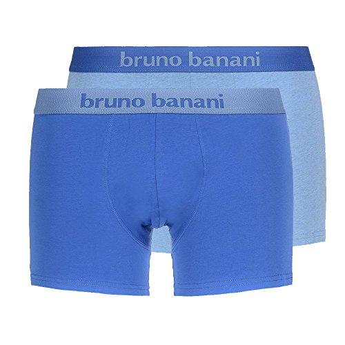Bruno Banani Mutande Boxer Da Uomo Short flowing NERO 2 Pack