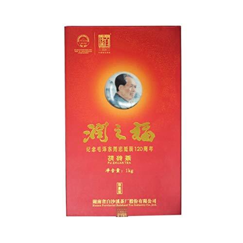 蟲草城 潤之福茯磚茶 / Chung Chou City Pure Dark Tea Brick