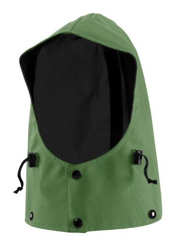 WaterShed 975041-TGR-LGE StormShield Waterproof Snap on GORE-TEX Hood, Large, Forest Green