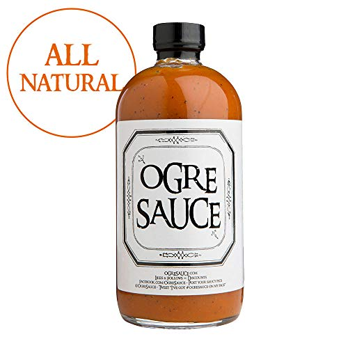BBQ Sauce - Ogre Sauce - All-Purpose Craft Barbecue Sauce - Award Winning BBQ Sauce - Best BBQ Sauce You've Ever Had