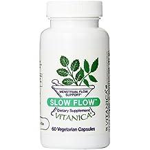 Vitanica Slow Flow, Mentrual Flow Support, 60 Capsules