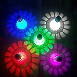 TRIEtree LED Badminton, Colorful Shuttlecock Bouncy Dark Night Glow Birdies Lighting for Outdoor Indoor Sports Activities