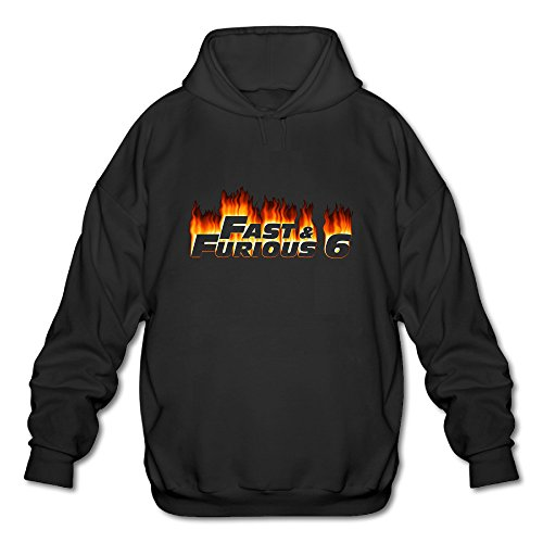 The Fast And The Furious Franchise Men's Cool Hooded Sweatshirt Hoodies ()