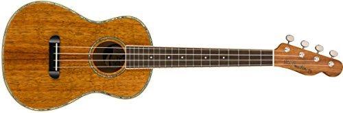 Fender Montecito Tenor Ukulele All Koa [並行輸入品]   B07FQ666M2