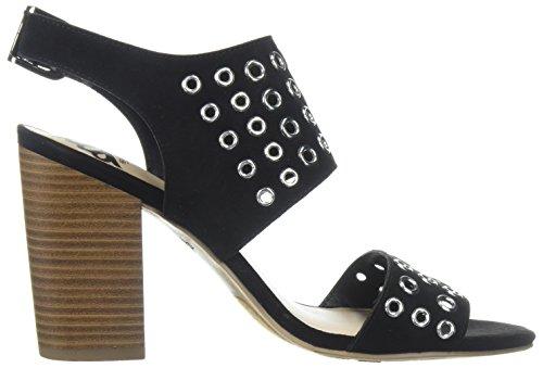Fergalicious Women's Jolene Heeled Sandal Black 5B6spJ8