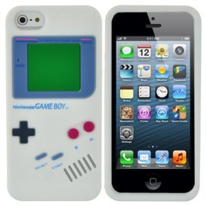 bonamart-r-white-nintendo-gameboy-game-boy-soft-silicone-case-back-cover-skin-for-iphone-5-5s-5g