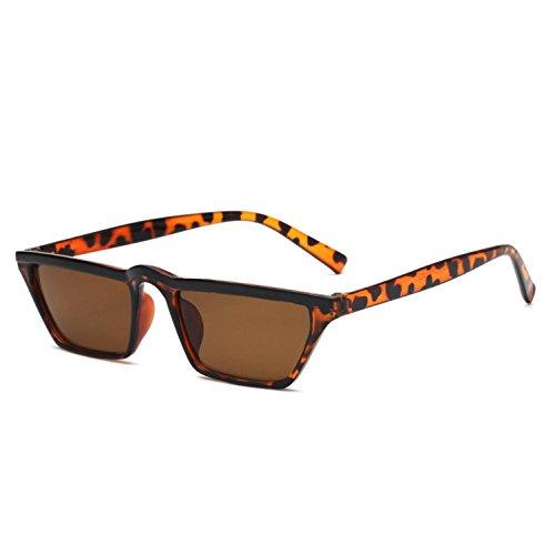 de sol Multicolor para mujer de de de Gafas sol E americano sol mujer d Gafas Gafas Opcional UV400 y mujer Gafas europeo para sol Estilo para RDJM nqZw1Cx