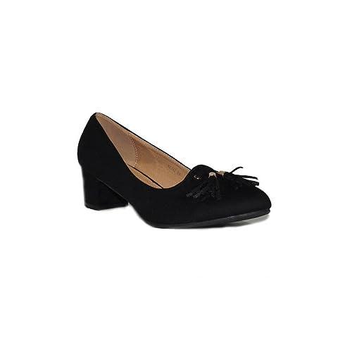 Camel Cómodos y con A6142 Mujer Zapatos Zapatos BENINI Negro es Merceditas Tacón Shoes Amazon Salón de Azul BENINI Elegantes complementos Poco Casuales wRzqZX7Rx