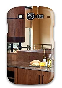 Durable Case For The Galaxy S3- Eco-friendly Retail Packaging(modern And Open Kitchen With Wet Bar)