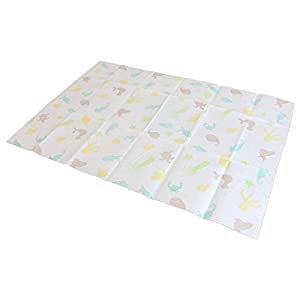 Emmzoe Disposable Sanitary Diaper Changing Table Mat Pads – Germ Protection, Soft, Leakproof – Sea Life (18″ x 27″ – 25 Pack)