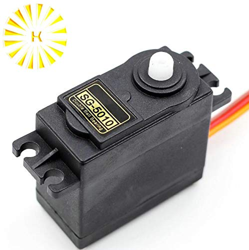 Gimax 1PCS SG5010 servo actuator standard 38g remote control aeromodelling Helicopters KT gliding small robots servo model Connector ()