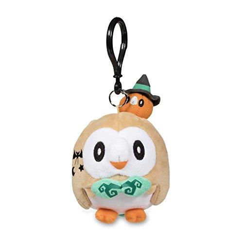 Pokemon X And Y Halloween Costumes (Pokemon Center Rowlet Halloween Costume Plush Keychain)