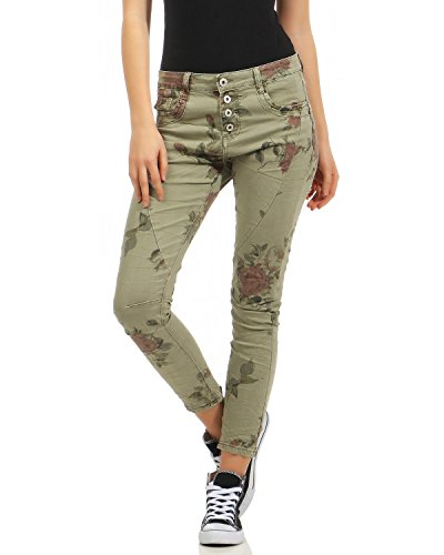 Boyfriends poches Hipster Femmes Destroyed Pantalon Cinq Look NEWPLAY Jeans Armee Stretch Boygy vvdqa