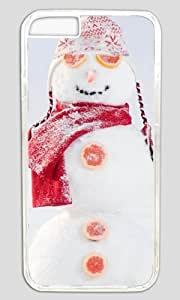 Excellent Funny Fruit Snowman Thanksgiving Easter PC Transparent Case for Masterpiece Limited Design iphone 6 by Cases & Mousepads