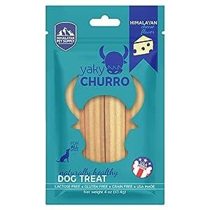 Himalayan Dog Chew Yaky Snack Churro, Cheese