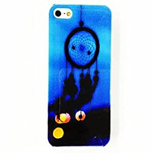 AES - Punk Dreamcatcher Feather Pattern Plastic Hard Case for iPhone 5/5S , Multicolor