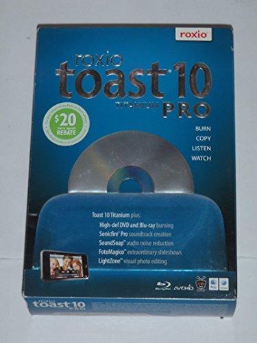 Roxio 242700 TOAST 10 TITANIUM PRO FOR MAC