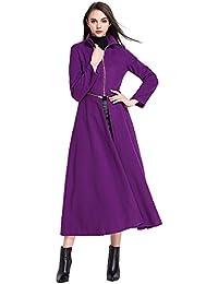 Amazon.com: Purples - Wool & Blends / Wool & Pea Coats: Clothing ...